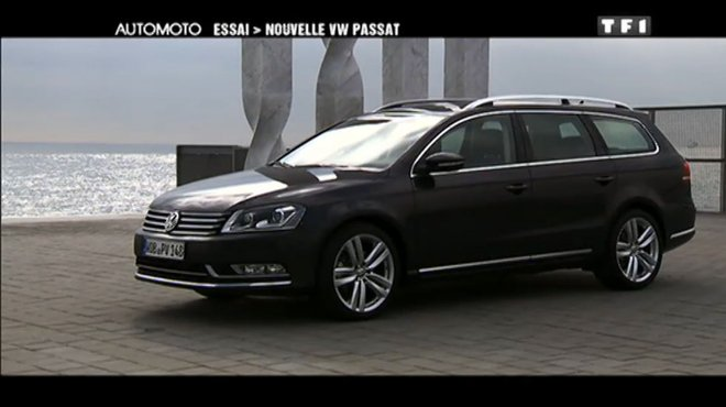 essai vid o la nouvelle passat 2011 automoto tf1. Black Bedroom Furniture Sets. Home Design Ideas