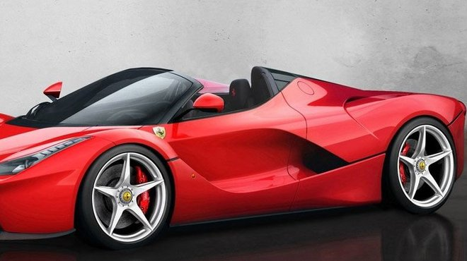 ferrari laferrari spider pour 5 1 millions d euros. Black Bedroom Furniture Sets. Home Design Ideas