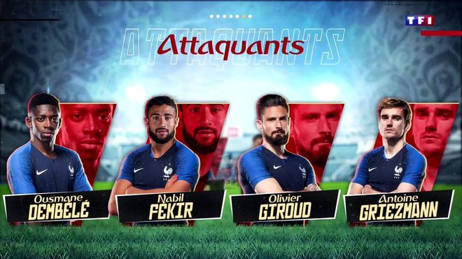 Equipe De France La Liste Des 23 Bleus Pour La Coupe Du Monde 2018