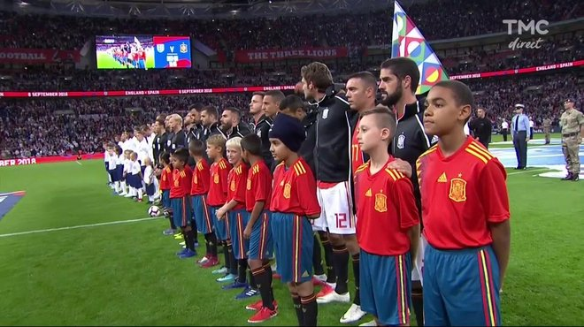 Angleterre Espagne Voir L Hymne Espagnol En Video Ligue Des