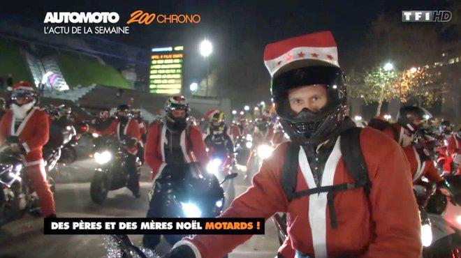 balade moto noel paris 2018 Insolites : 1.000 pères noël à moto dans les rues de Paris  balade moto noel paris 2018