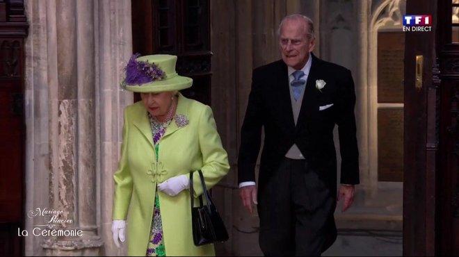 Mariage du Prince Harry et de Meghan Markle  l\u0027arrivée d\u0027Elisabeth II , Le  mariage du Prince Harry et Meghan Markle , TF1