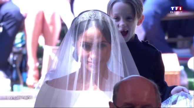 Mariage du Prince Harry et de Meghan Markle  l\u0027arrivée de la future épouse  à la chapelle Saint,George , Le mariage du Prince Harry et Meghan Markle ,  TF1