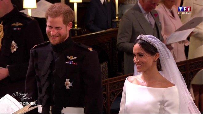 Mariage princier  le fou rire du prince Harry et de l\u0027assistance au moment  du consentement , Le mariage du Prince Harry et Meghan Markle , TF1