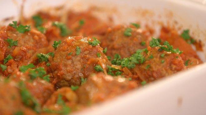 Recette de boulettes de viande sauce tomate au fenouil - Recette cuisine tf1 petit plat en equilibre ...