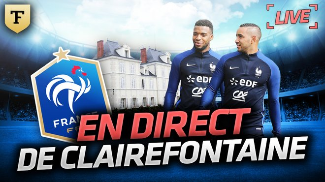 la quotidienne en direct de clairefontaine t l foot tf1. Black Bedroom Furniture Sets. Home Design Ideas