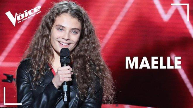 """Résultat de recherche d'images pour """"Maëlle, 17 ans, première femme à gagner The Voice : la plus belle voix !"""""""